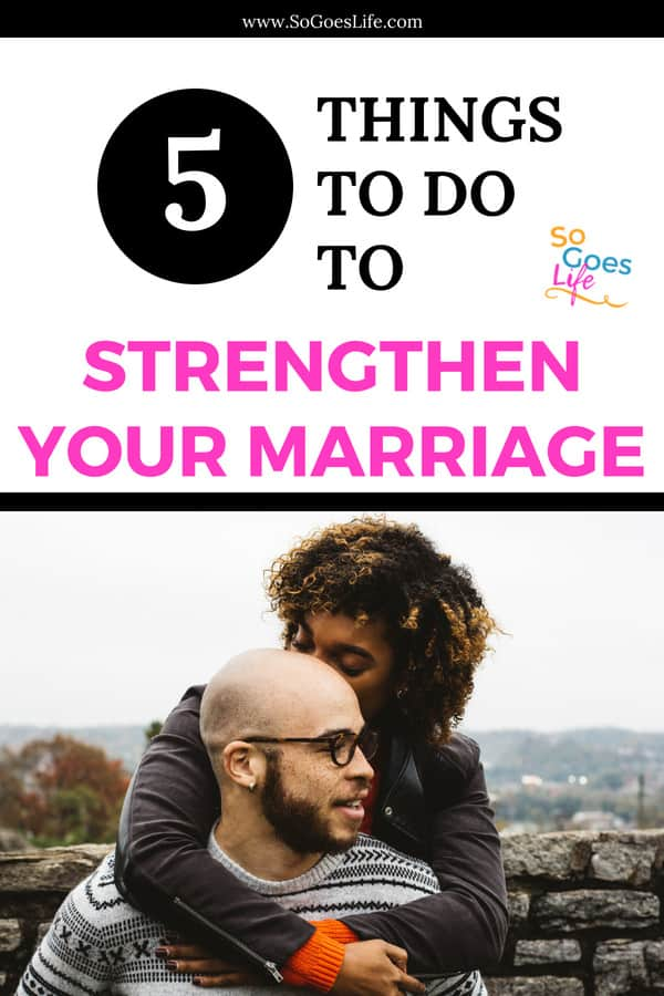 I love my husband, but that doesn't meant that I haven't had struggles in my marriage. These 5 tips will help you strengthen your marriage and give you reason to love you husband even more. Ideas to help you enjoy getting to know your husband again and loving him for the wonderful person he is.