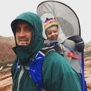 Hiking With a Baby - Snow Canyon State Park