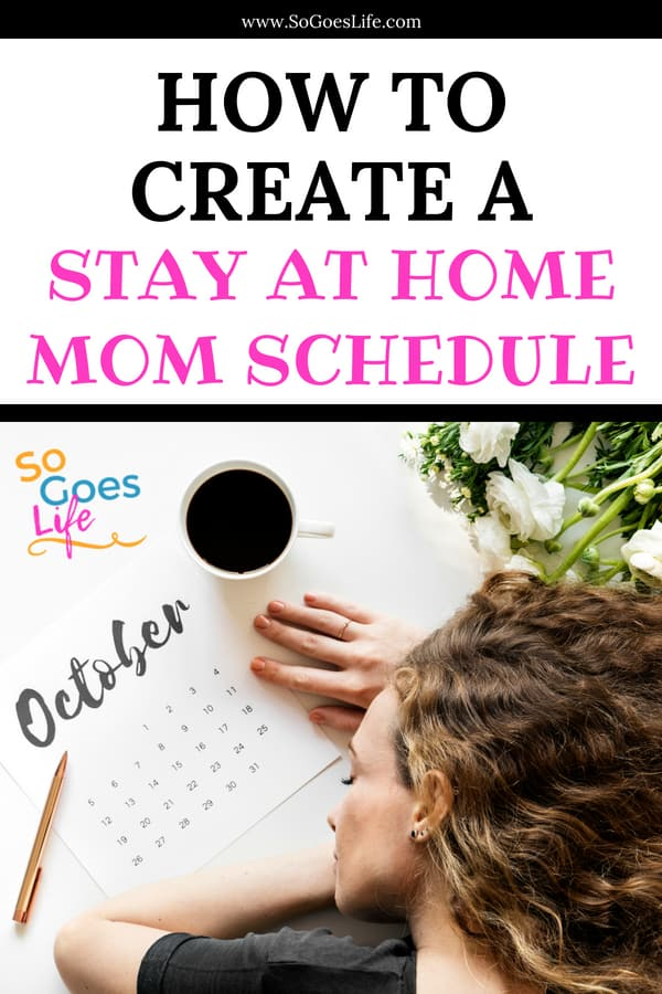 Do you dream of the days when you actually get everything on your To-Do List done? So did I until I finally got on the ball and created a daily schedule for myself as a stay at home mom. Having a daily stay at home mom schedule has really helped increase my productivity. Being organized as helped me be on time, more in the moment and definitely helped me become a better mother. Taking the time to schedule out your day will help you be a better parent.