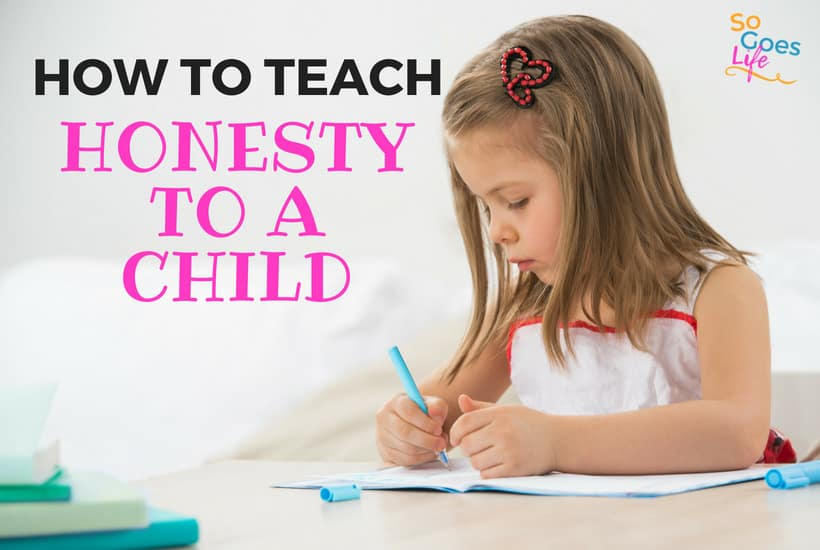 My goals is to have honest kids who tell the truth and don't steal. Recently I was reminded that the number one way I teach my kids to be honest isn't the stuff I had been teaching. This post will share the number one way to teach your kids honesty and it probably isn't what you expect.