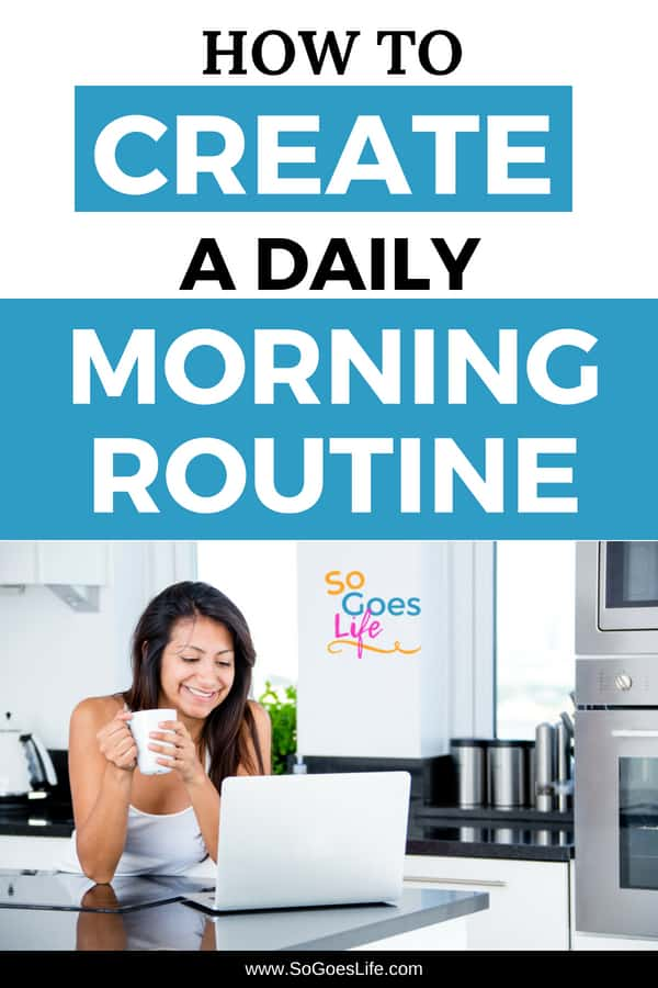 I love the idea of having a morning routine that helps me replicate the habits of successful people. If you are overwhelmed and stressed these tips will help you create a morning routine that will help you be productive and have a less hectic day.