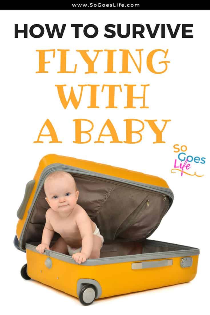 Flying with a new baby can be overwhelming. These tips will help you survive the experience of flying for the first time with a baby. My baby flew 13 times before she turned two and these tips are all based on what I learned and the mistakes I made. When you fly with a baby, you can have a blast if you are prepared. Don't be afraid to get out and enjoy flying as a new mother.