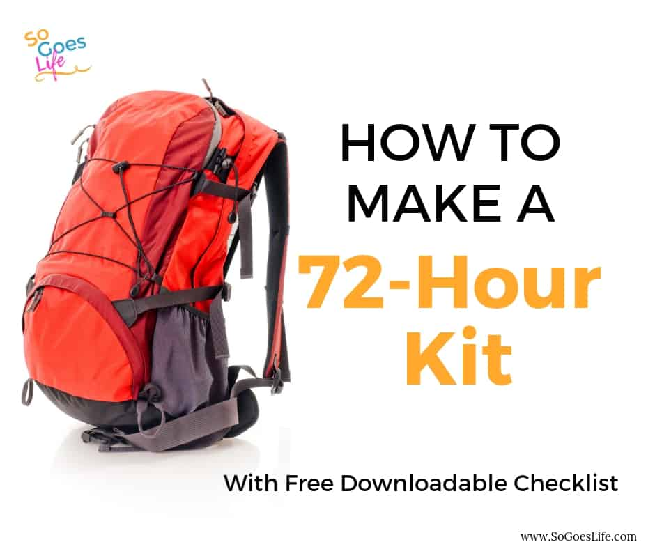 Building your own DIY 72 hour emergency kit is a great way to make sure you are protected if there is a natural disaster. Free 72 hour emergency kit checklist to make sure you include everything you need. Learn how to create your own 72 hour kit. Inexpensive tips to help you create an emergency kit that will help you prepare for an emergency.