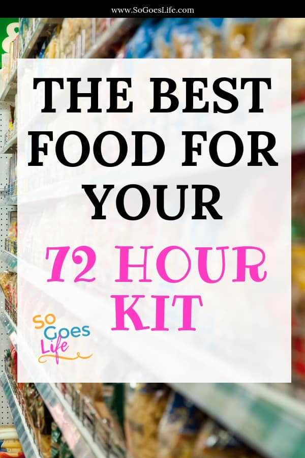 Creating a food list for your 72 hour kit can be overwhelming when you are just getting started. This post will help you find the best food for your 72 hour kit. Lightweight, compact, inexpensive and healthy food options that will make preparing your food packs quick and easy. 72 hour food kit list made simple.